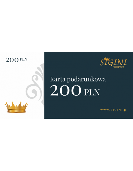 Bon podarunkowy 200
