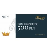 Bon podarunkowy 500