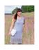 Zmysłowa komplet. Delikatnie prześwitująca sukienka z siatki z obcisłą białą sukienką
