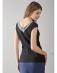 Bluzka czarna z dużym dekoltem na plecach