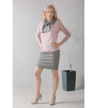 Śliczna spódnica w modne grochy